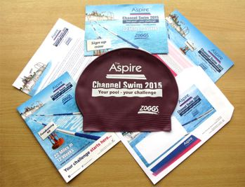 Aspire Channel Swim welcome pack