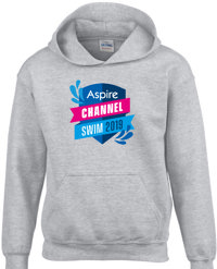 Aspire Channel Swim grey hoodie