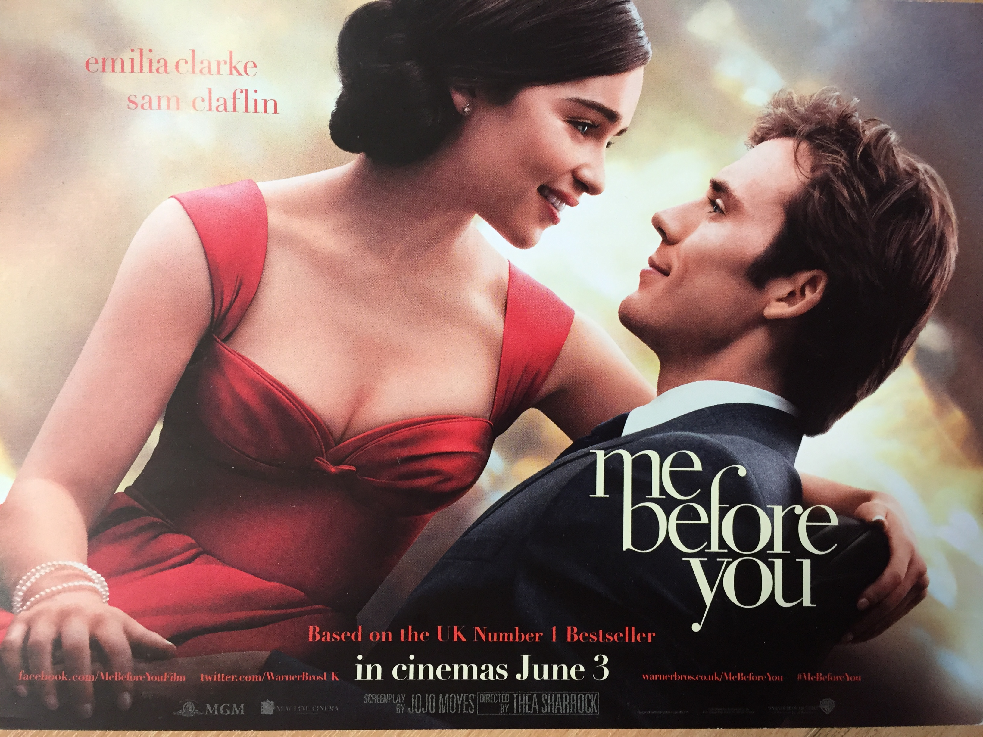 Me Before You film poster