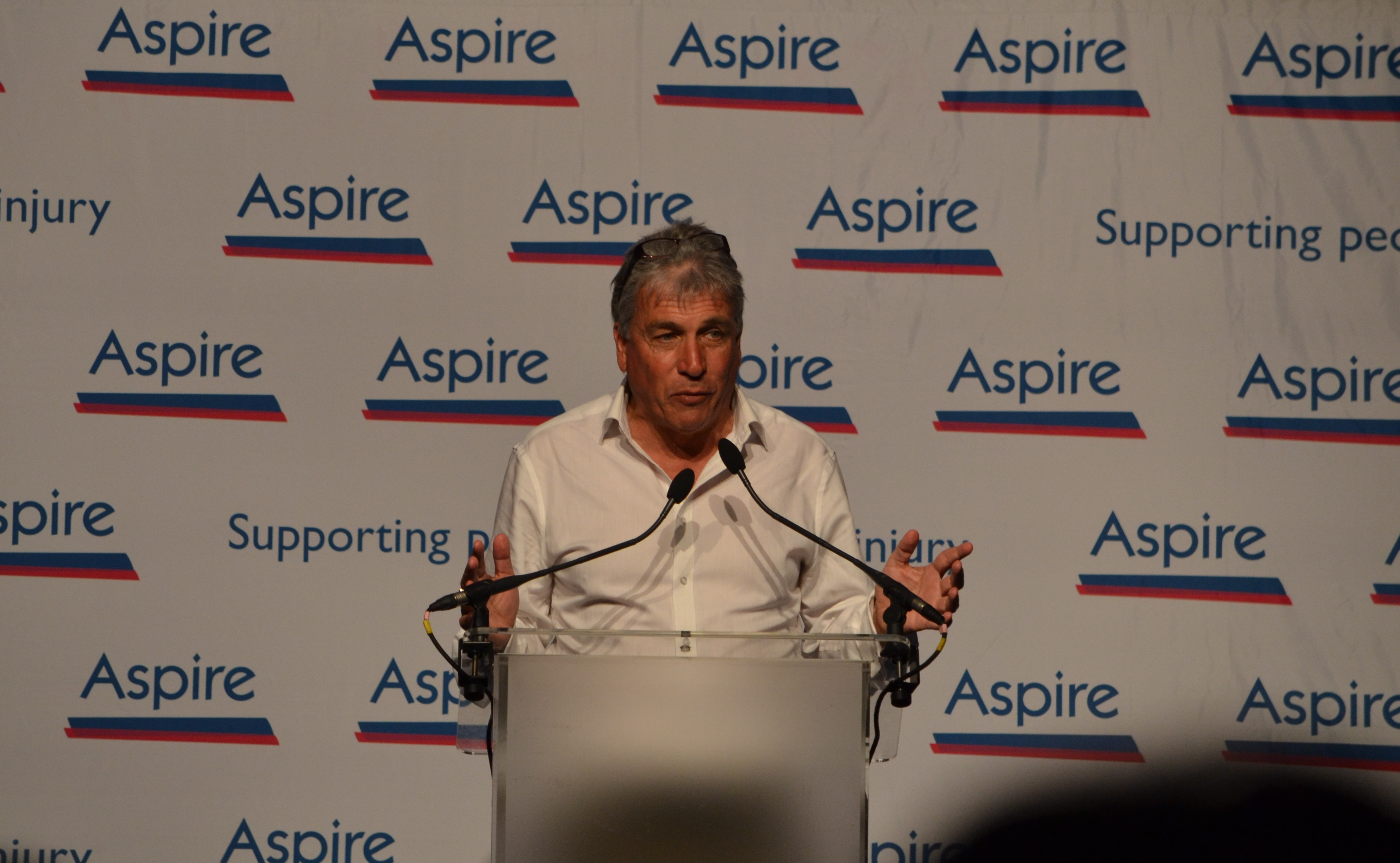 John Inverdale at the London Sports Quiz Dinner