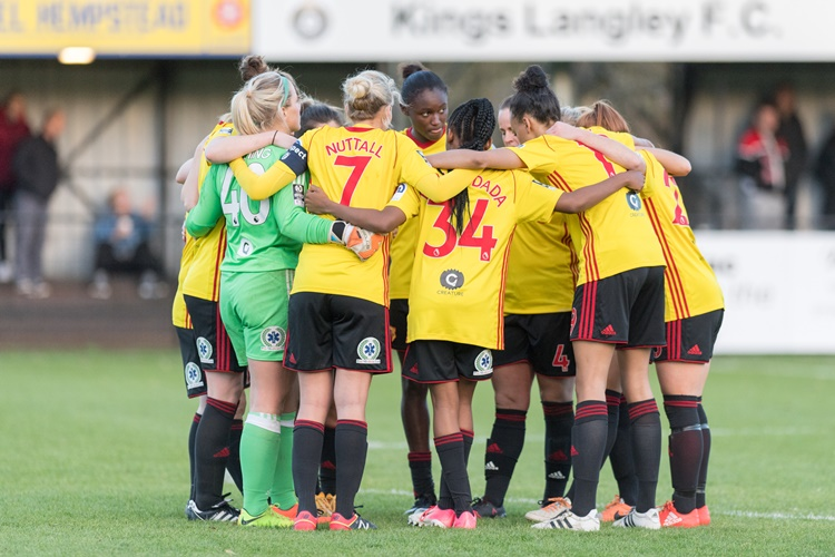 Watford ladies football team