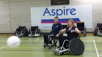 Paul Arnold from GBWR and Penny Mordaunt MP