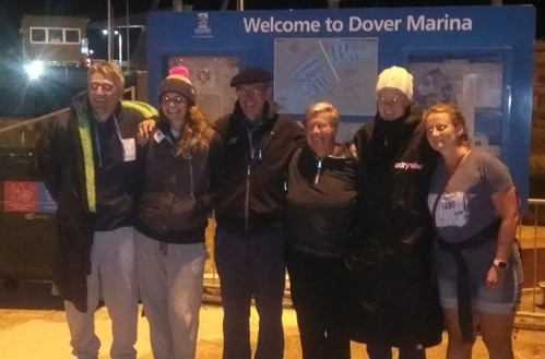 Aspire Lions in Dover before their swim