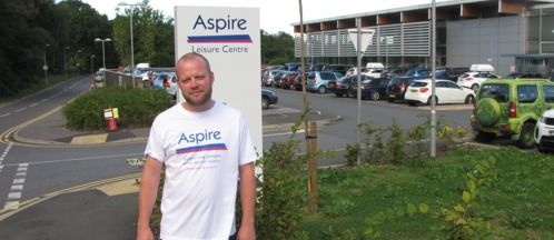 Top Aspire Channel Swim fundraiser Tom Clark