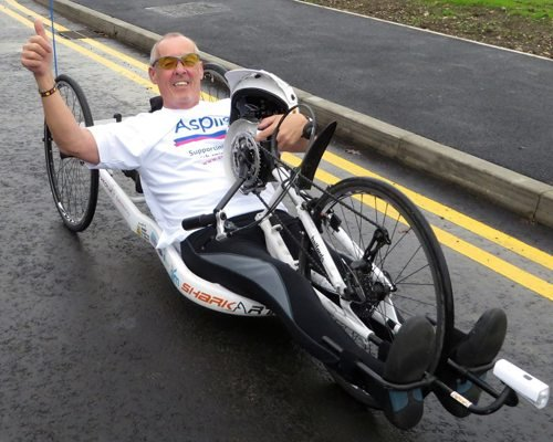 Rob Groves handcycling