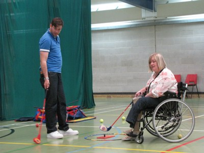 Wheelchair Golf taster session