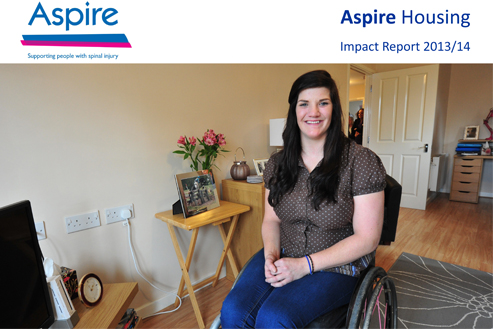 Aspire Housing Impact Report 2013-14
