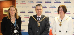 Emily Hoban, Mayor of Sefton & the Mayoress