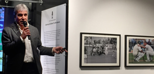 John Inverdale hosting an evening at Getty Images Gallery