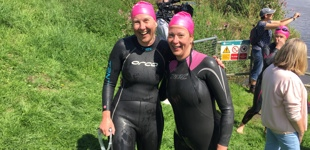 River Arun swimmers