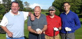 Aspire Golf Day players