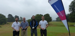 Golf team at the Aspire Golf Day