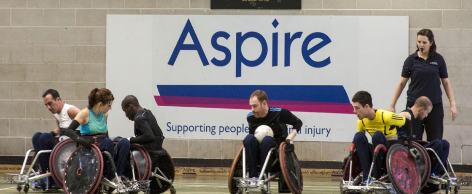 Wheelchair rugby at Aspire