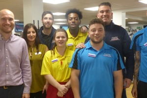 Aspire Leisure Centre staff