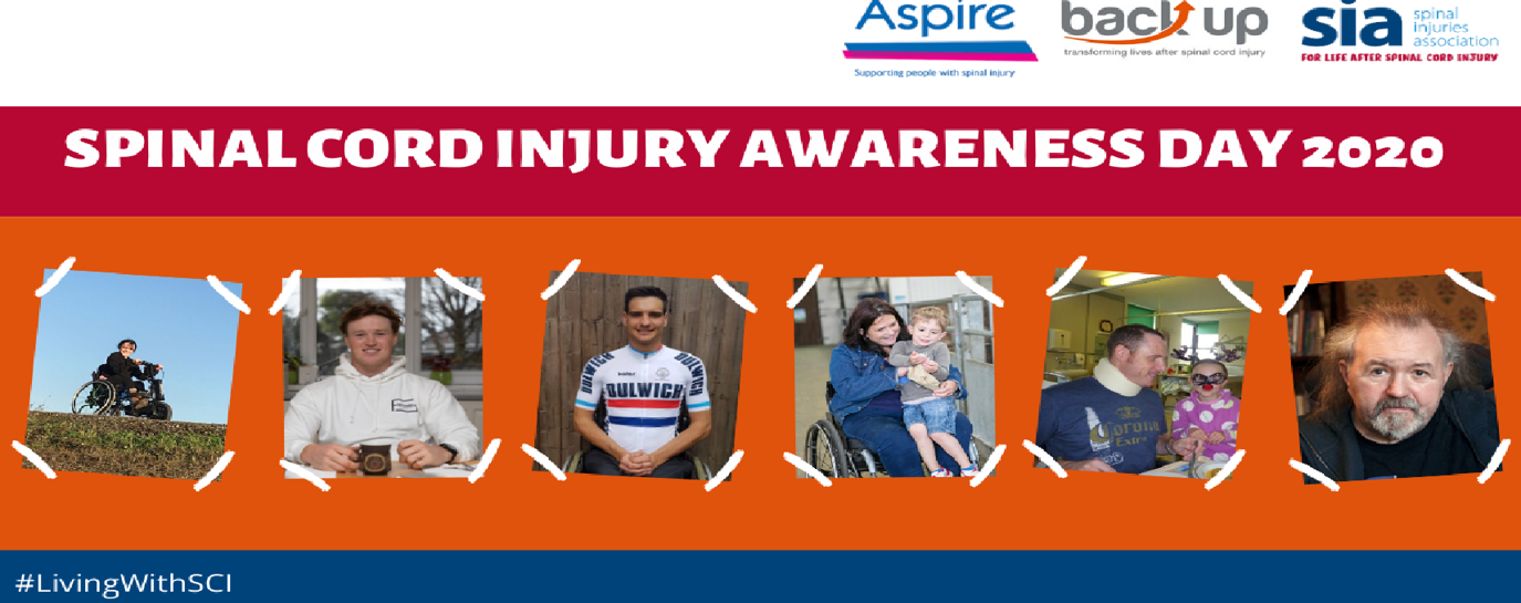 Leading charities collaborate to mark spinal cord injury awareness day