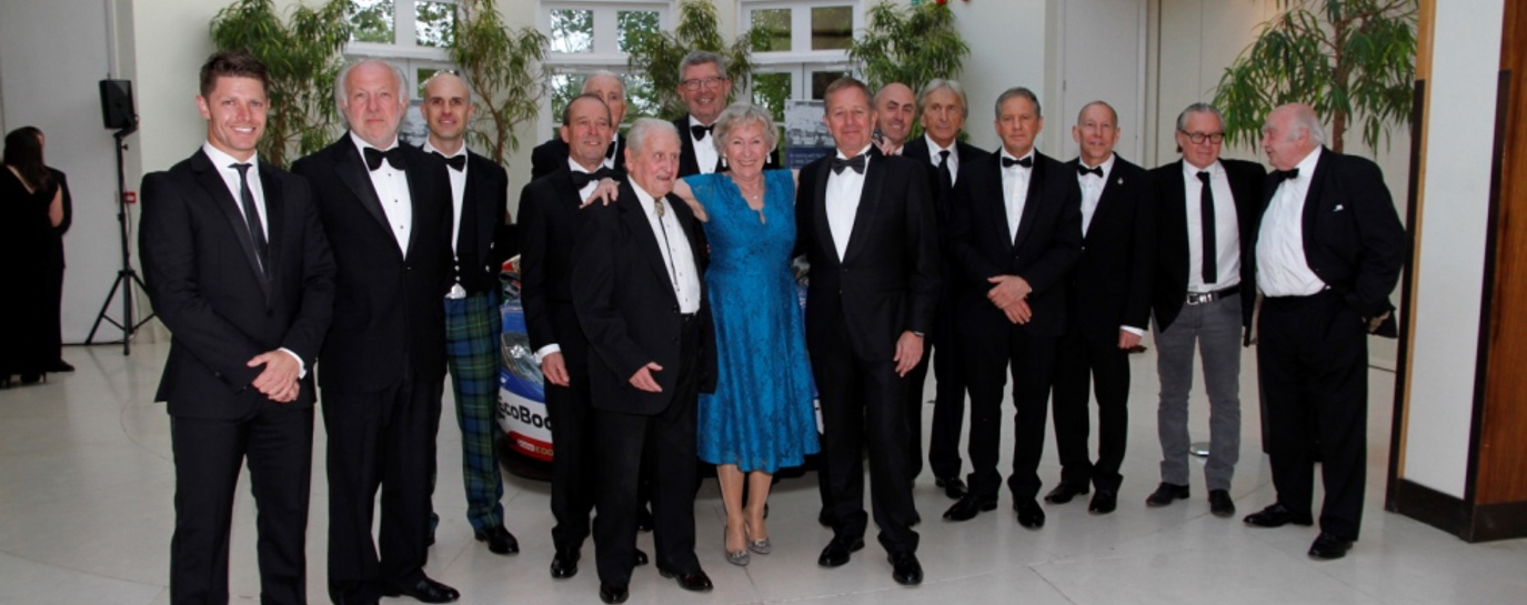 Le Mans drivers at celebration dinner 2016