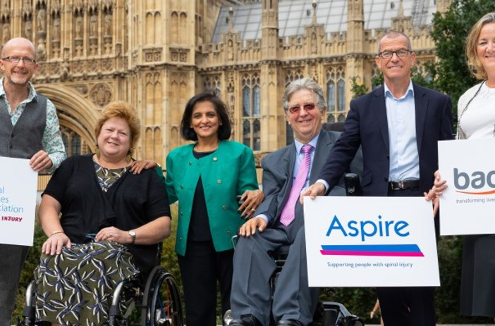CEOs and Chair of Trustees for Aspire, Back Up and SIA in Westminster