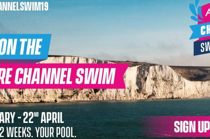Aspire Channel Swim sea and white cliffs of Dover