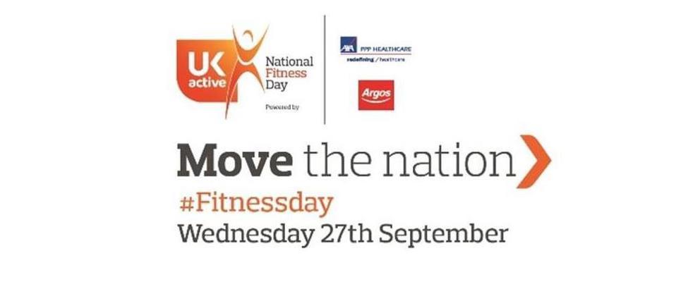 National Fitness Day logo