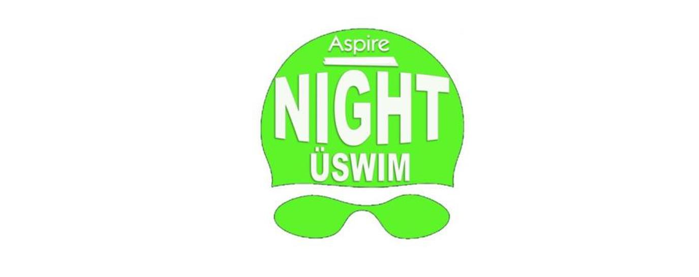 Aspire Night USwim logo