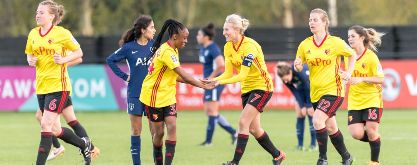 Watford ladies footballers