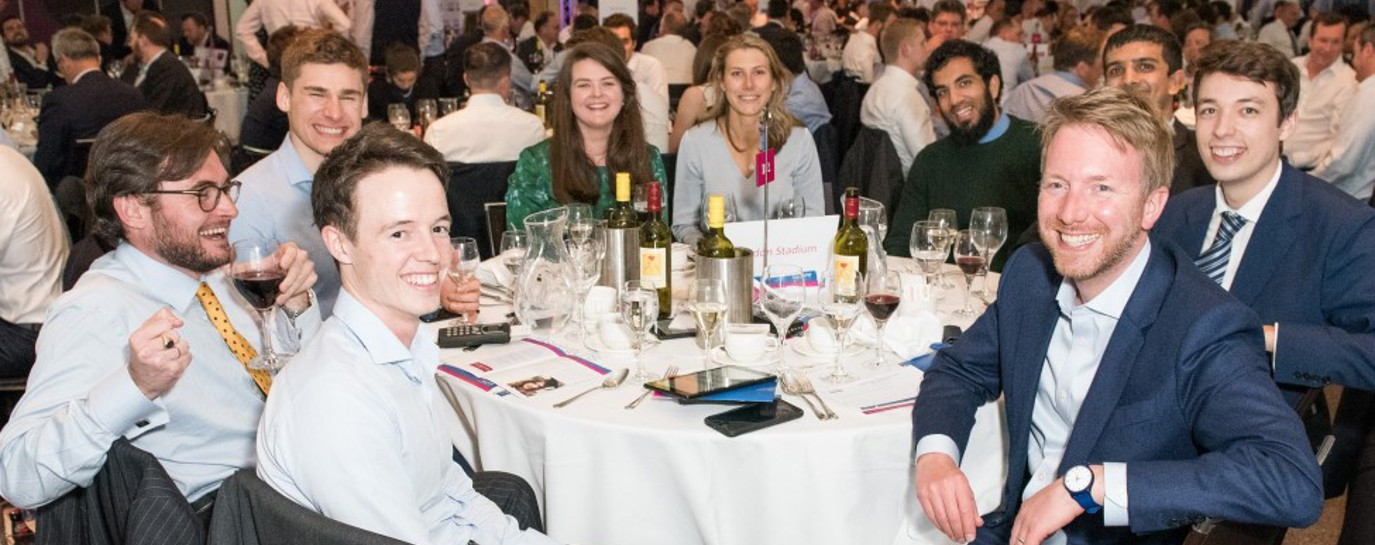 Guests at the Sports Quiz Dinner 2019