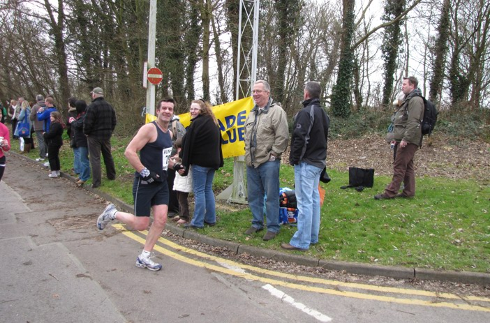 Kevin at a previous race