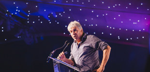 John Inverdale at the Sports Quiz Dinner