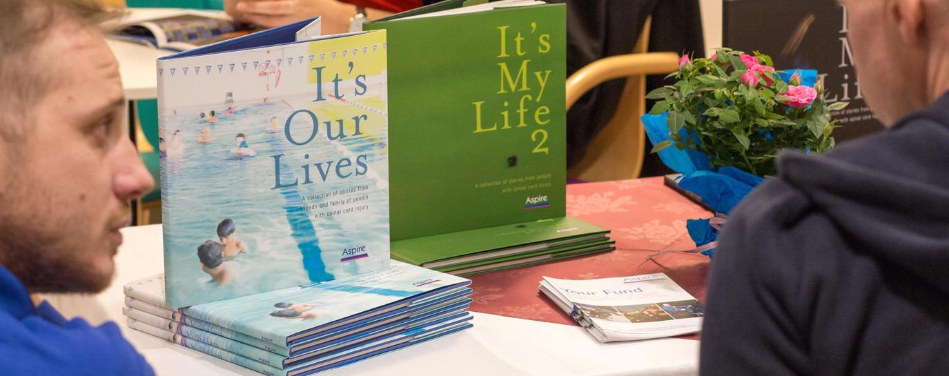 Aspire launches 'It's Our Lives' book