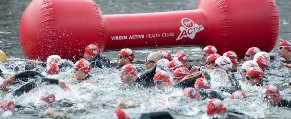 London Triathlon swimming