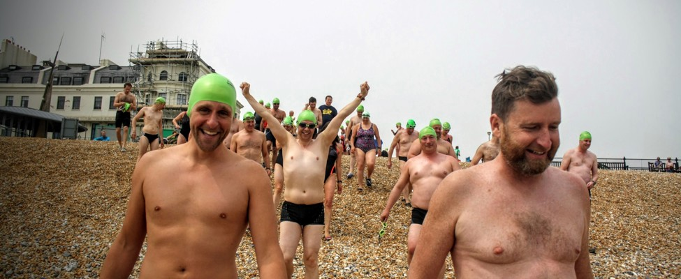 relay channel swimmers excited for swim