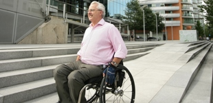 EY leaders take part in wheelchair challenge