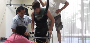 Man walks again after years of paralysis