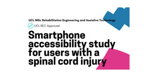 Take part in a smartphone accessibility study